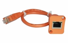 RJ45, IP68 Waterproof  LAN Cable