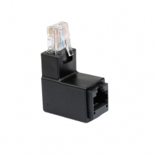 RJ45  8P8C male to female adapter