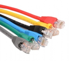 Colourful LAN Cable